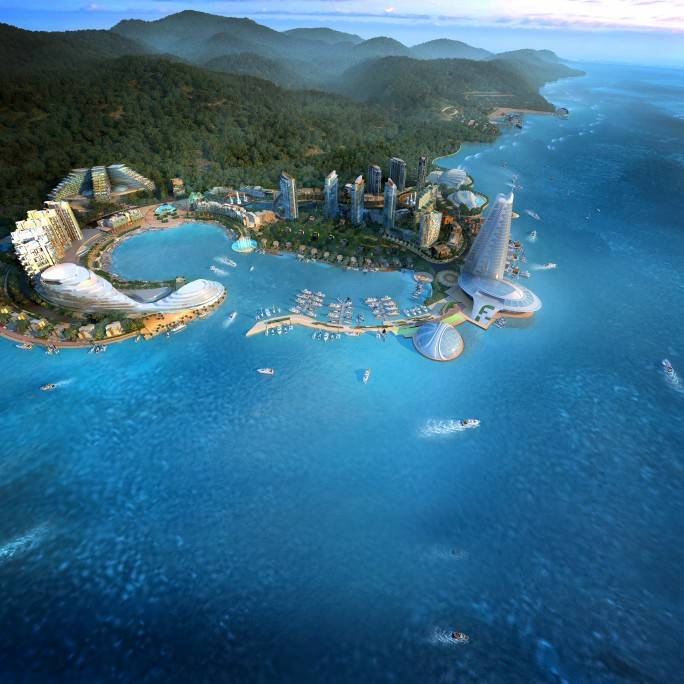 Dalian Golden Coast Project Conceptual Planning
