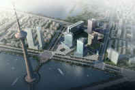 Tianjin Water Park Olympics Center Urban Design