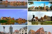 Nanning Moon Lake European Town Design