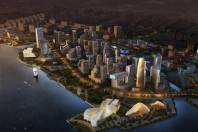 Shantou Zhugang New City Conceptual Planning